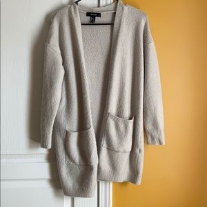 Forever 21 | Gray Knit Cardigan
